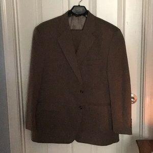 Chaps 2 pc tan suit